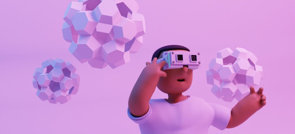 VR learning experience